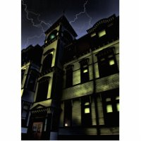 Haunted House Standing Photo Sculpture   Zazzle