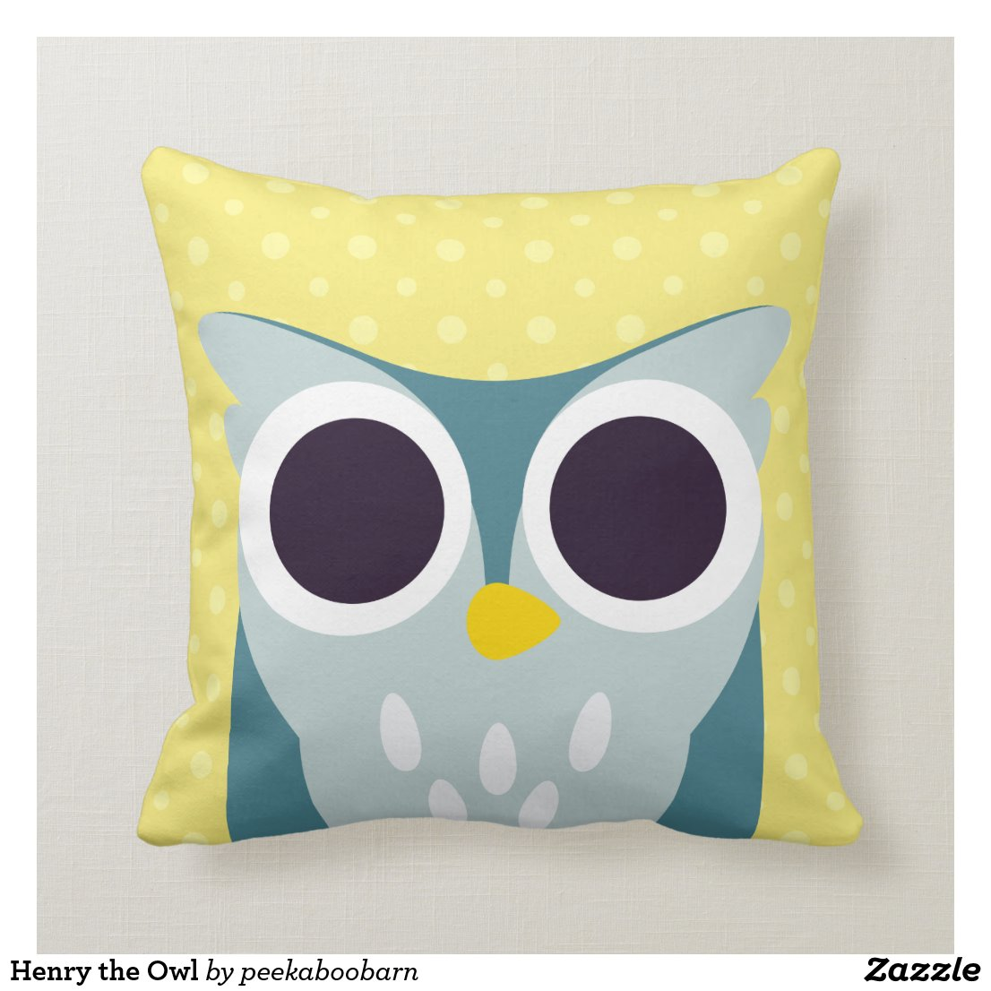 Henry the Owl Cushion