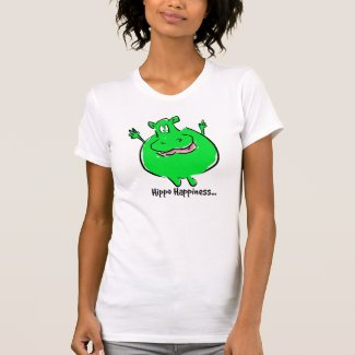 Hippo Happiness - T-shirt