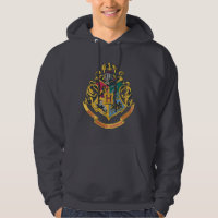 Hogwarts Four Houses Crest Sweatshirt