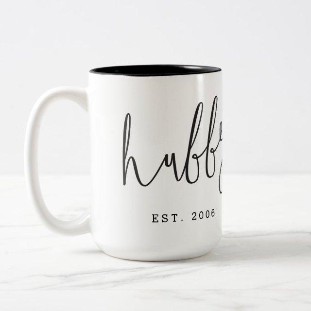 'Hubby' Couple Mug