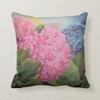 Hydrangea Cushions