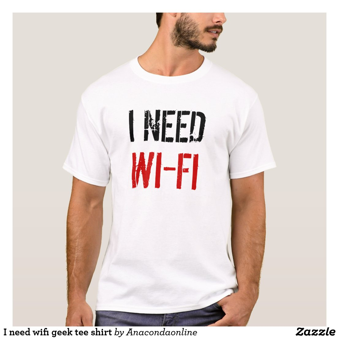 I need wifi geek t-shirt