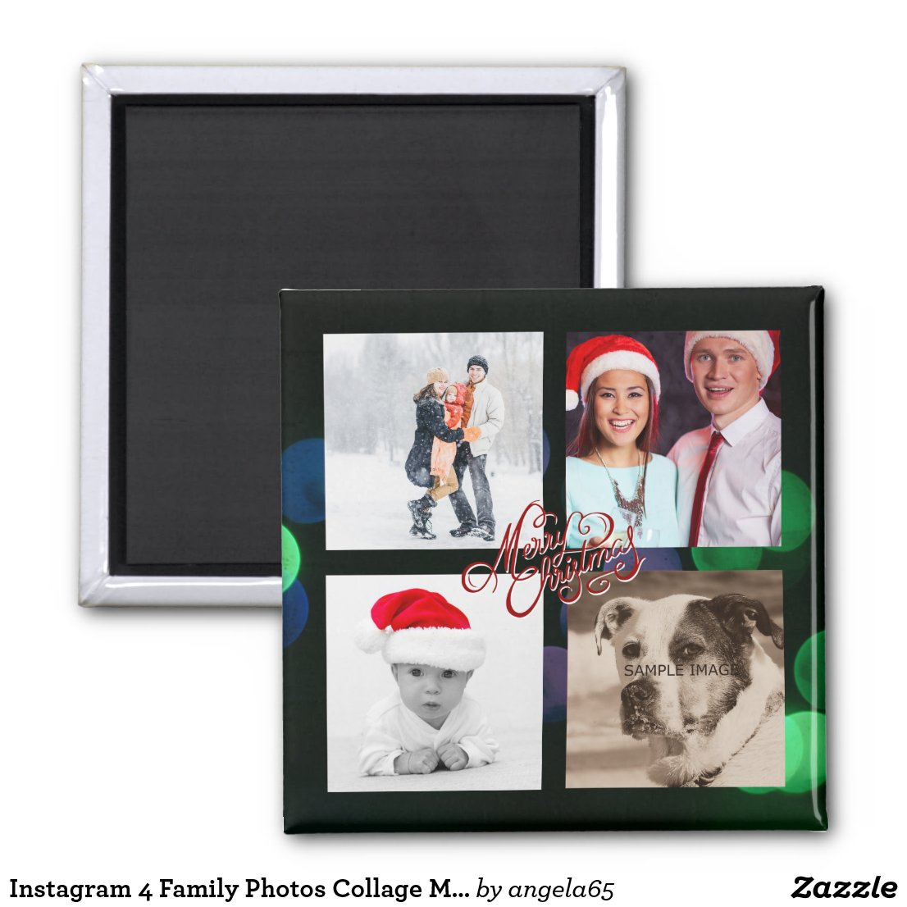 Instagram Merry Christmas Magnet