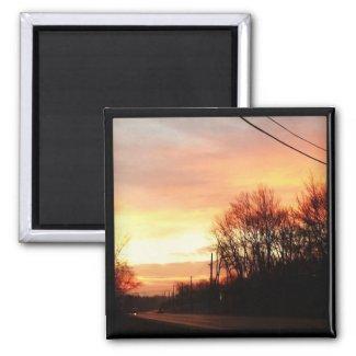 Instagram Sunset Magnet