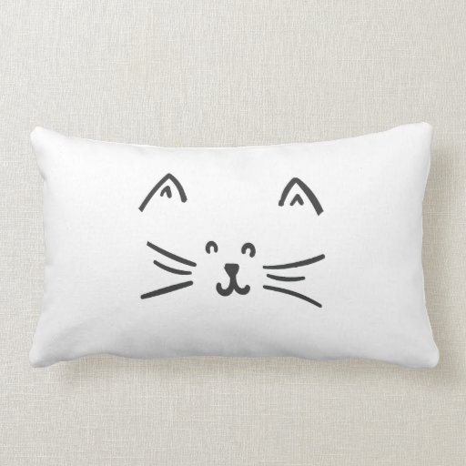 It's a cat! cushion