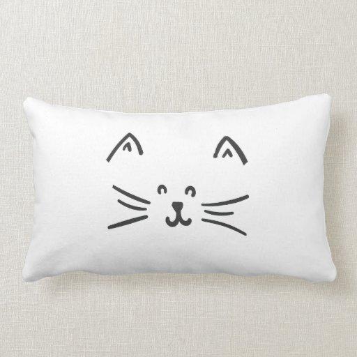 It's a cat! cushion