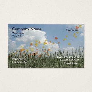 77 yard work business cards