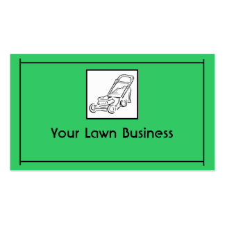 79 yard work business cards