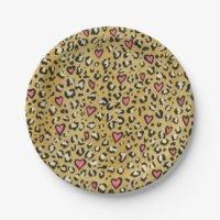 Leopard Plates | Zazzle.co.uk