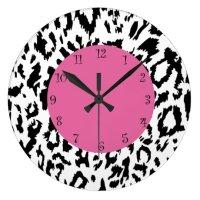 Leopard Style Wall Decor Clocks | Zazzle.co.uk