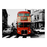 London Bus Poster 5
