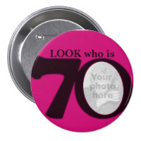 Look who is 70 badge