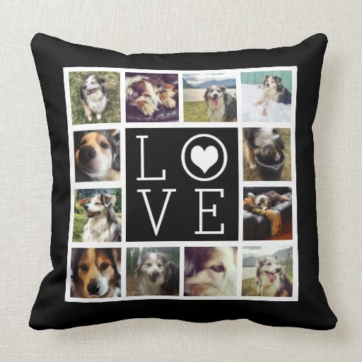 Instagram Photo Collage Cushion