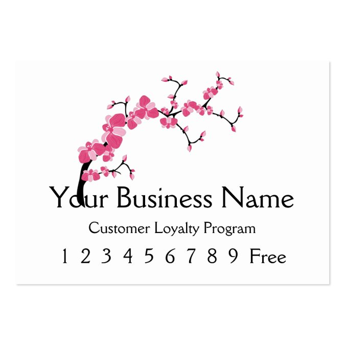 Loyalty Card 2 :: Cherry Blossom Tree Branch Business Card