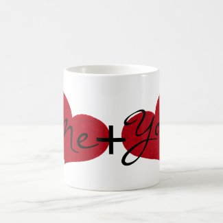 Me and You Valentine's Mug