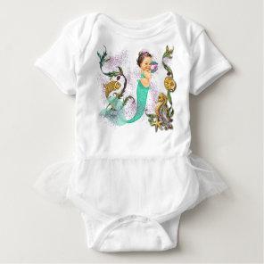 Mermaid Baby Baby Bodysuit