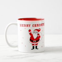 Merry Christmas & Krampus Mug