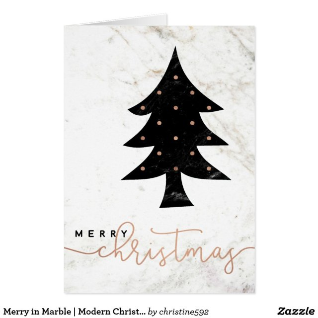 Merry in Marble | Modern Christmas