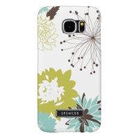 Mod Floral Pattern Custom Samsung Galaxy S6 Case Samsung Galaxy S6 Cases
