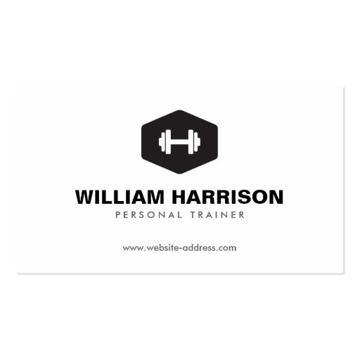Premium Fitness Business Card Templates