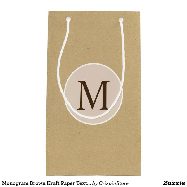 Monogram Gift Bag