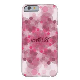 Monogram pink pattern phone case