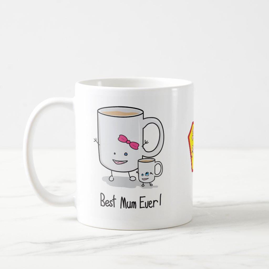Mothers Day Super Mum Coffee Mug