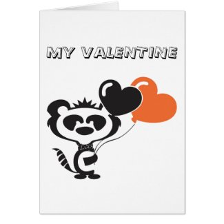 MY VALENTINE GREETINGS CARD, HUMOROUS. GREETING CARD