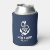 Nautical Anchor Can Cooler