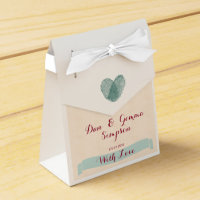 Nostalgic Romance- Wedding Favour Boxes
