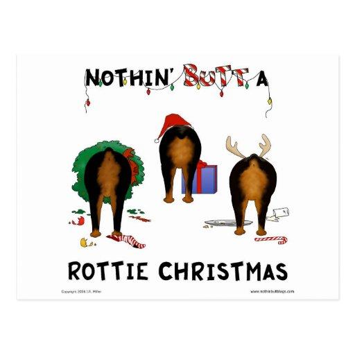 Nothin Butt A Rottie Christmas Zazzle