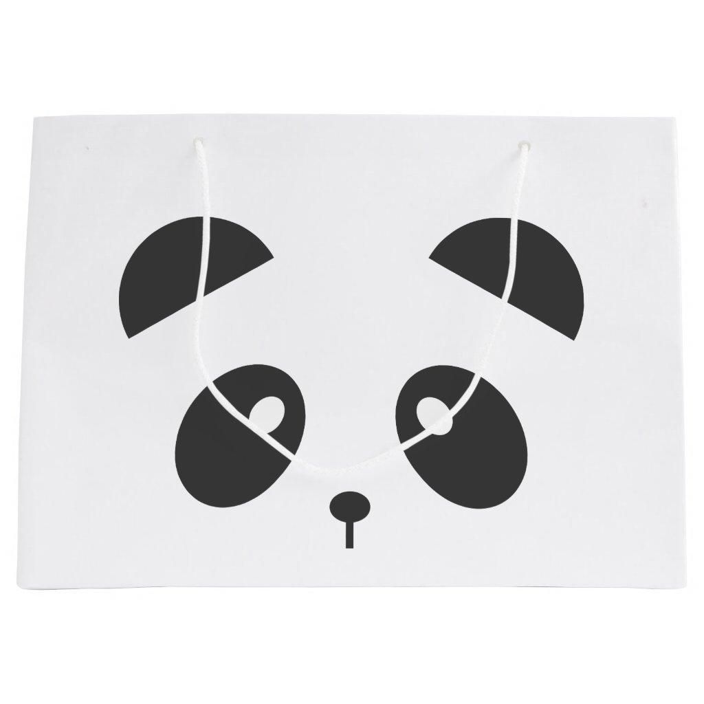 Panda gift bag