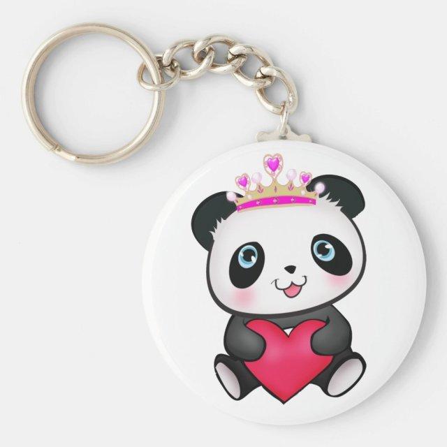 Panda Lover Keyring