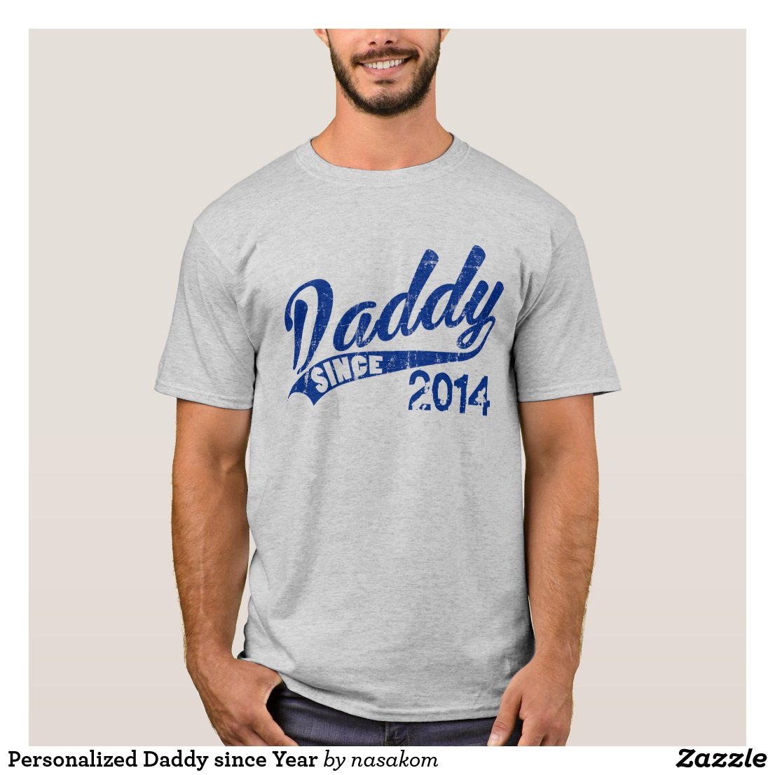 Personalised Daddy T-Shirt