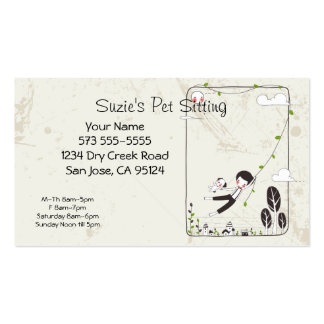 900+ Pet Sitting Business Cards and Pet Sitting Business