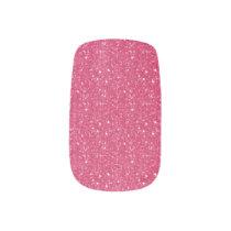 Pink Glitter  Minx Nails Minx® Nail Art