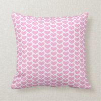 Hearts Pattern Pillow
