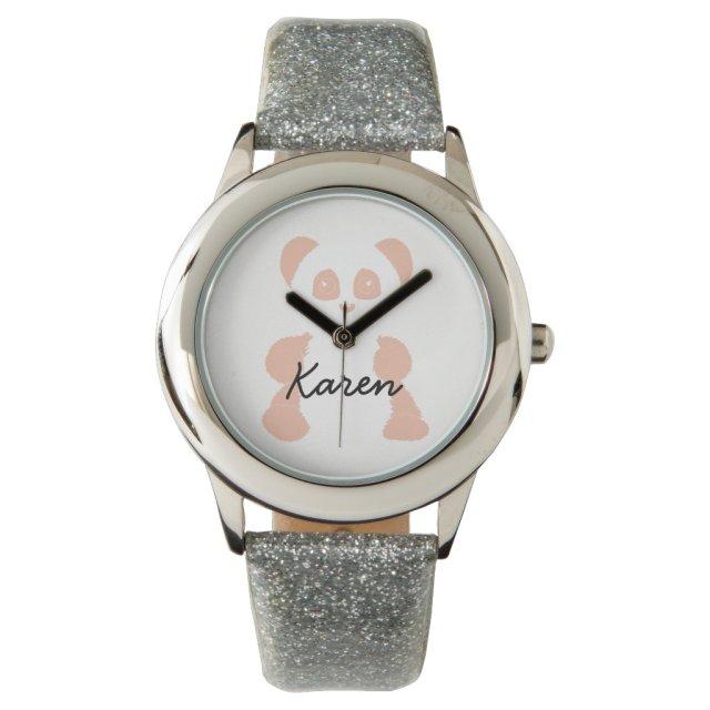 Personalised Panda Watch