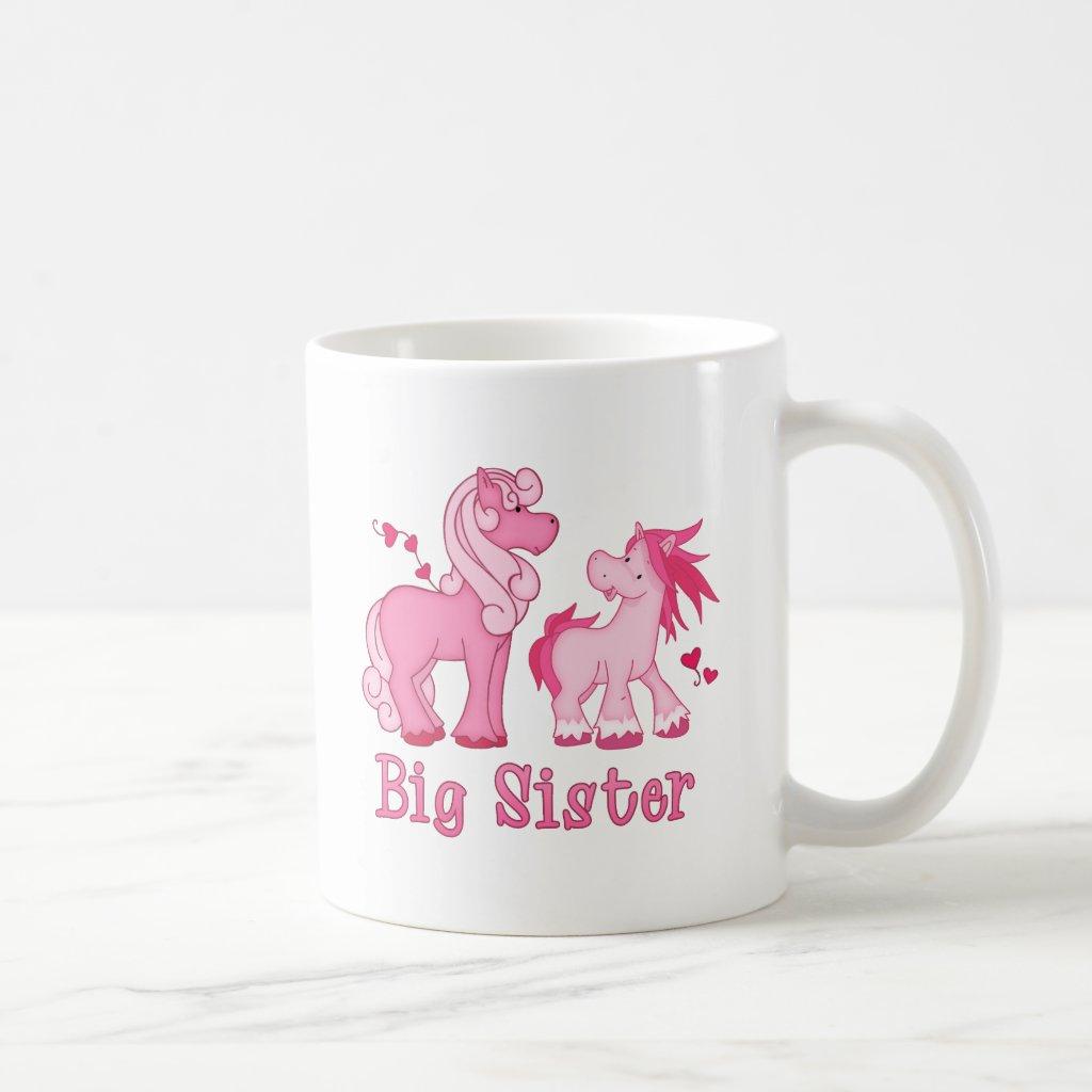 Ponys Big Sister Coffee Mug