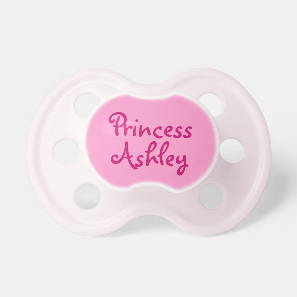 Personalised Baby Girl Pacifier