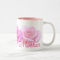 Pink Rose 'Mother'  Mug