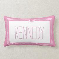 Monogram Keepsake Pillow