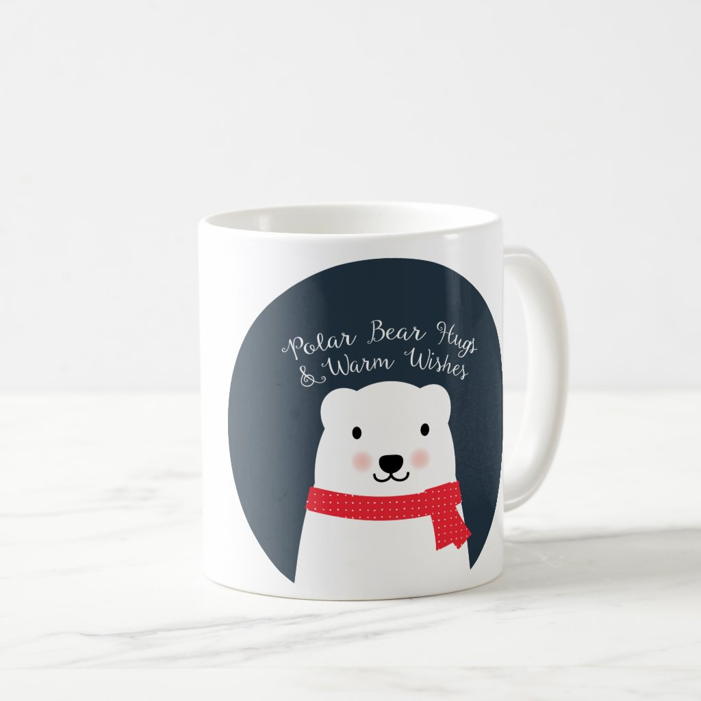Polar Bear Hugs Mug