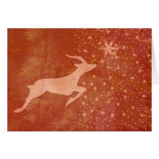 Prancer the Star Greeting Card