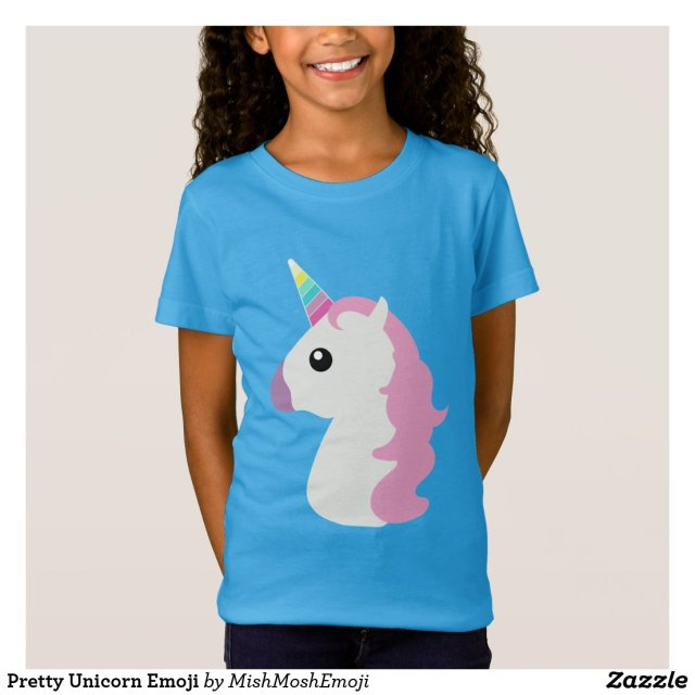 Pretty Unicorn Emoji