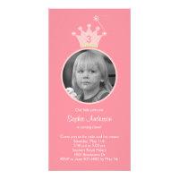 Princess Photo Birthday Party Invitation