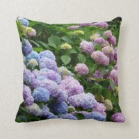 Hydrangea Cushions - Hydrangea Scatter Cushions | Zazzle.co.uk