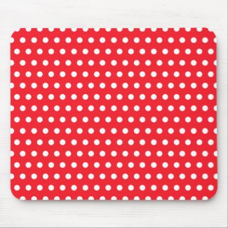 Polka Dot Mouse Mat