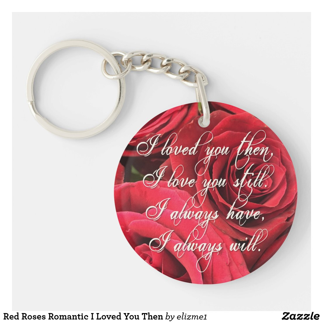 Romantic Keyring